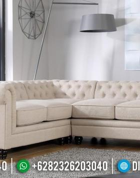 Set Sofa Tamu Minimalis Kayu Jati Minimalist Design Elegant BT-0703