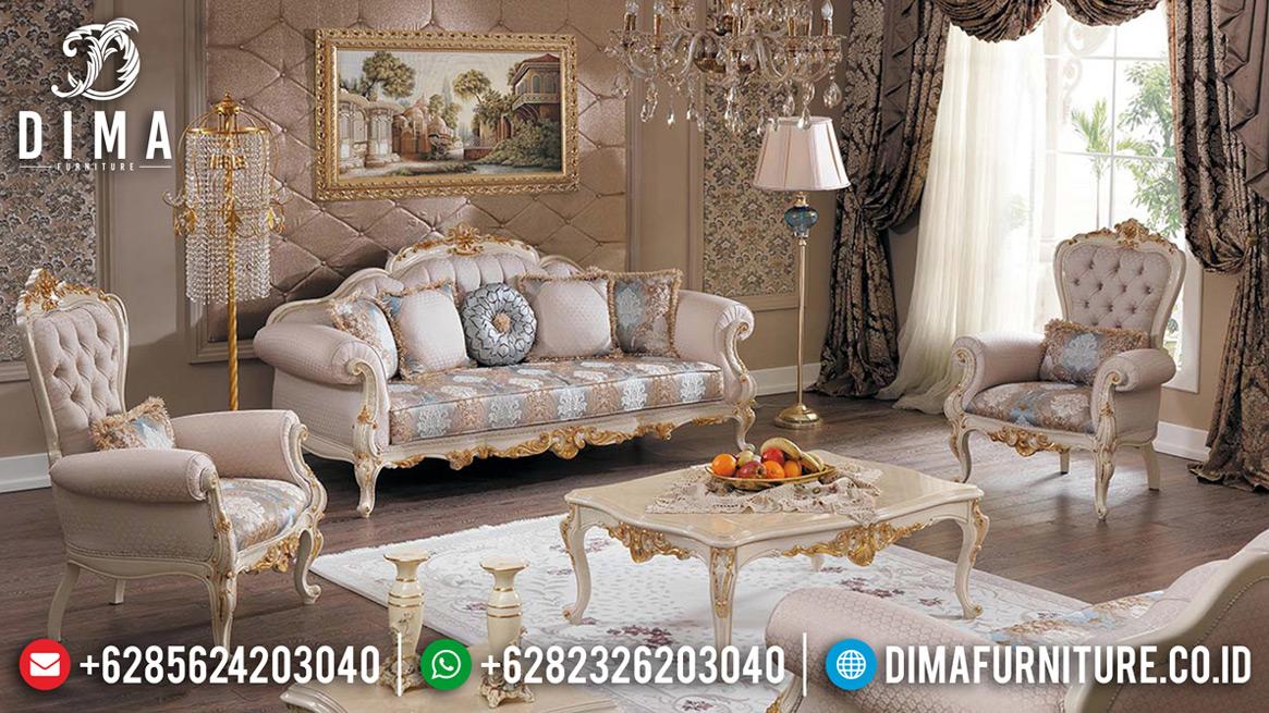 Sofa Tamu Mewah Carolina Luxury Carving Design New Turkish Style BT-0689