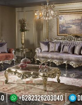 Best Seller Sofa Tamu Ukir Jepara Luxury Carving Harga Terjangkau BT-0787