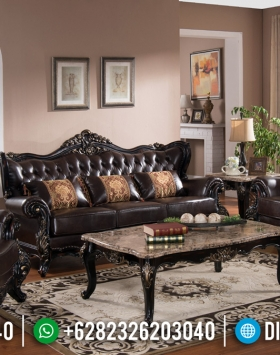 Elegant Type Sofa Tamu Jati Classic Luxury Carving Versailles Mebel Jepara BT-0811