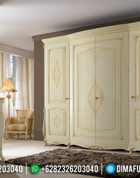 Get Sale Lemari Pakaian Mewah Sliding Desain Beautiful Art Combination BT-0776
