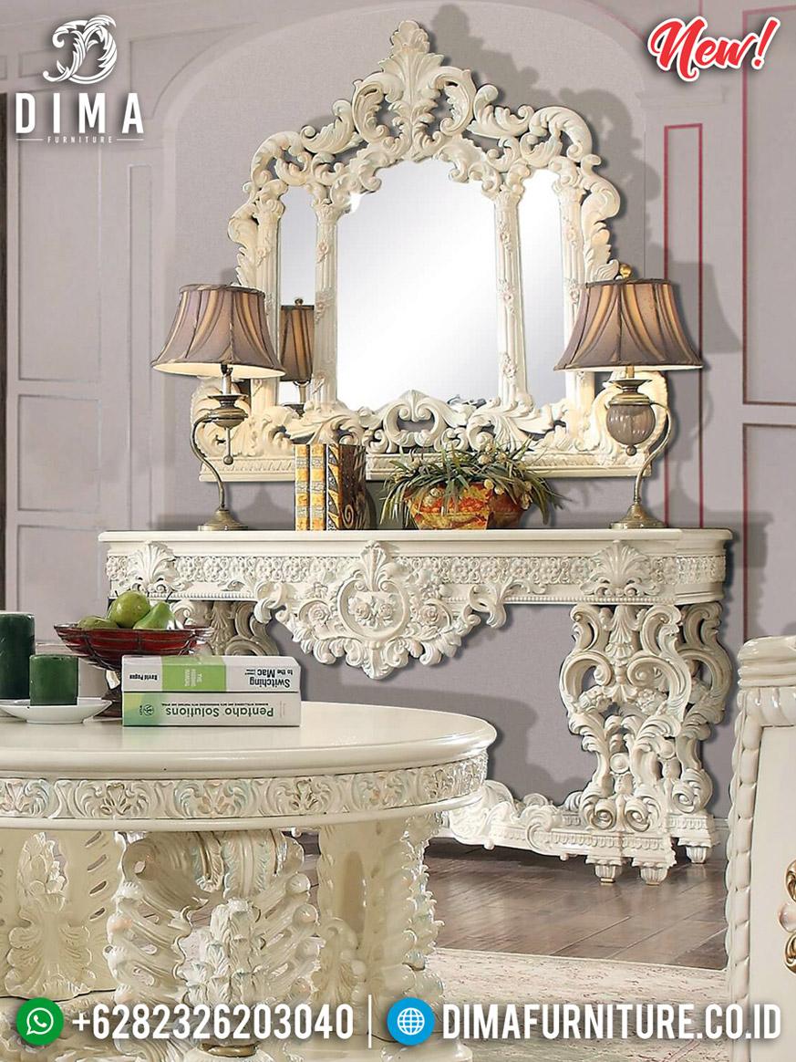 Jual Meja Konsul Mewah Ukiran Jepara Maggiolini Carving Luxury Best Seller BT-0846