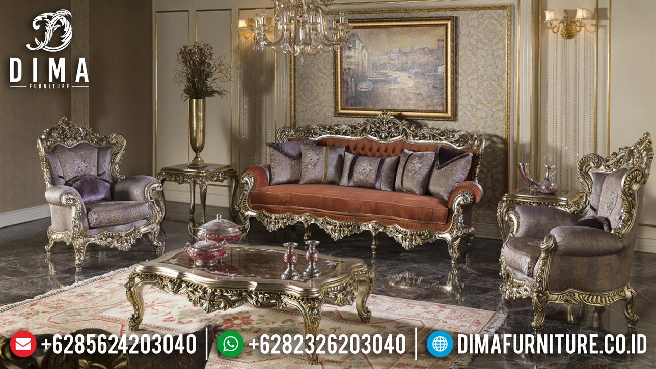 Jual Sofa Tamu Mewah Ukiran Luxury Antique Style Glamorous BT-0784