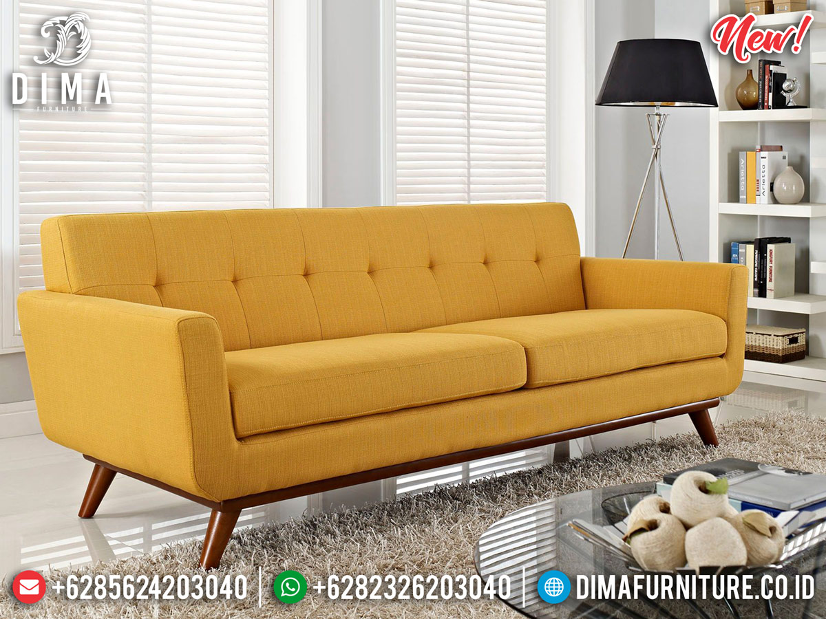 Jual Sofa Tamu Minimalis Modern 3 Seater New Elite Style Furniture BT-0767