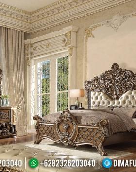 Queen Room Kamar Set Mewah Ukiran Luxury New Design Furniture Jepara BT-0823