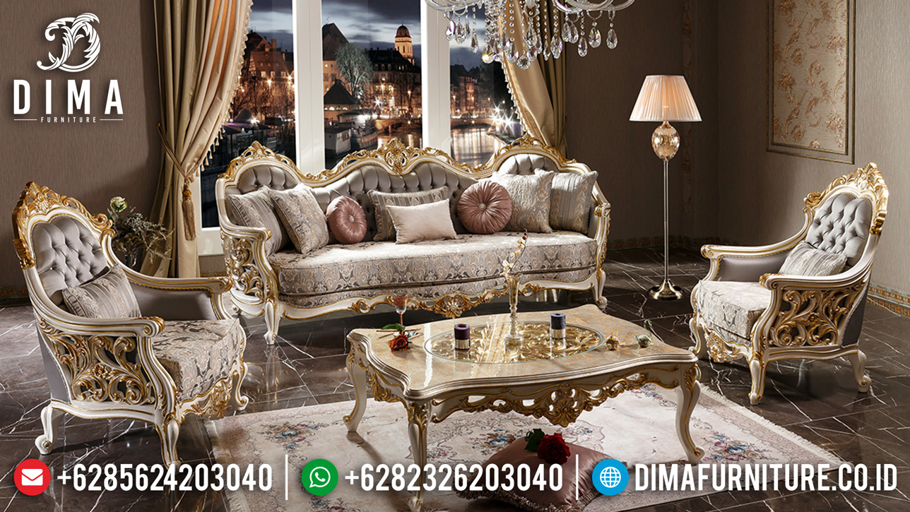 Sofa Tamu Mewah Jepara Luxury Empire New Carving Design Jepara BT-0783