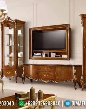 Harga Bufet TV Ukiran Jepara Mewah Luxury Classic Style Baroque BT-0870