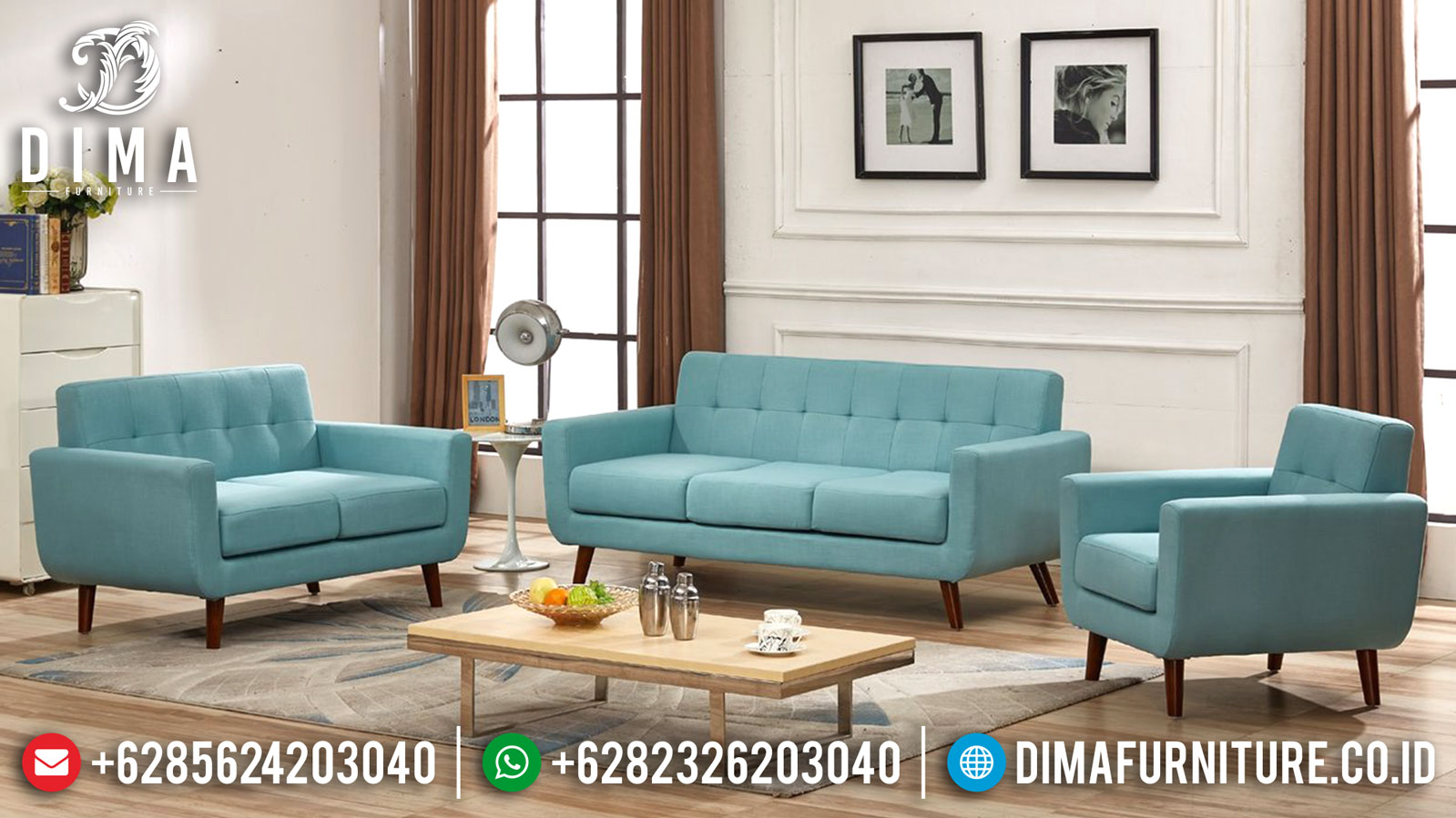 Jual Sofa Tamu Minimalis Jepara Classic Design New French Style Retro BT-0865