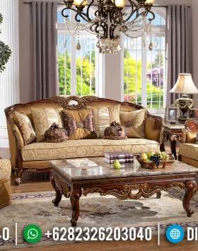 Luxury Classic Set Sofa Tamu Mewah Gaya Empire Louise XI BT-0858