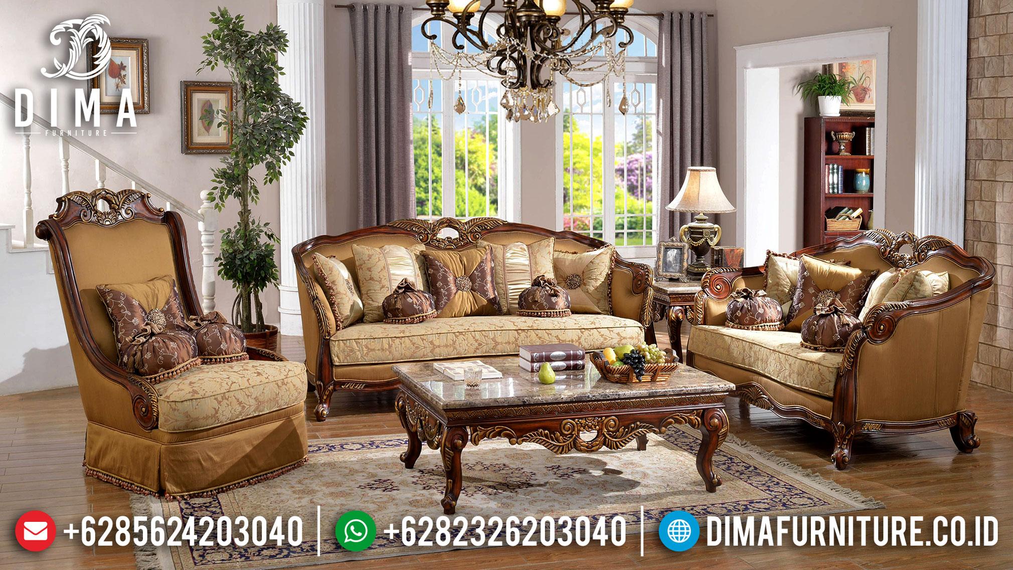 Luxury Classic Set Sofa Tamu Mewah Gaya Empire Louise XI BT-0858