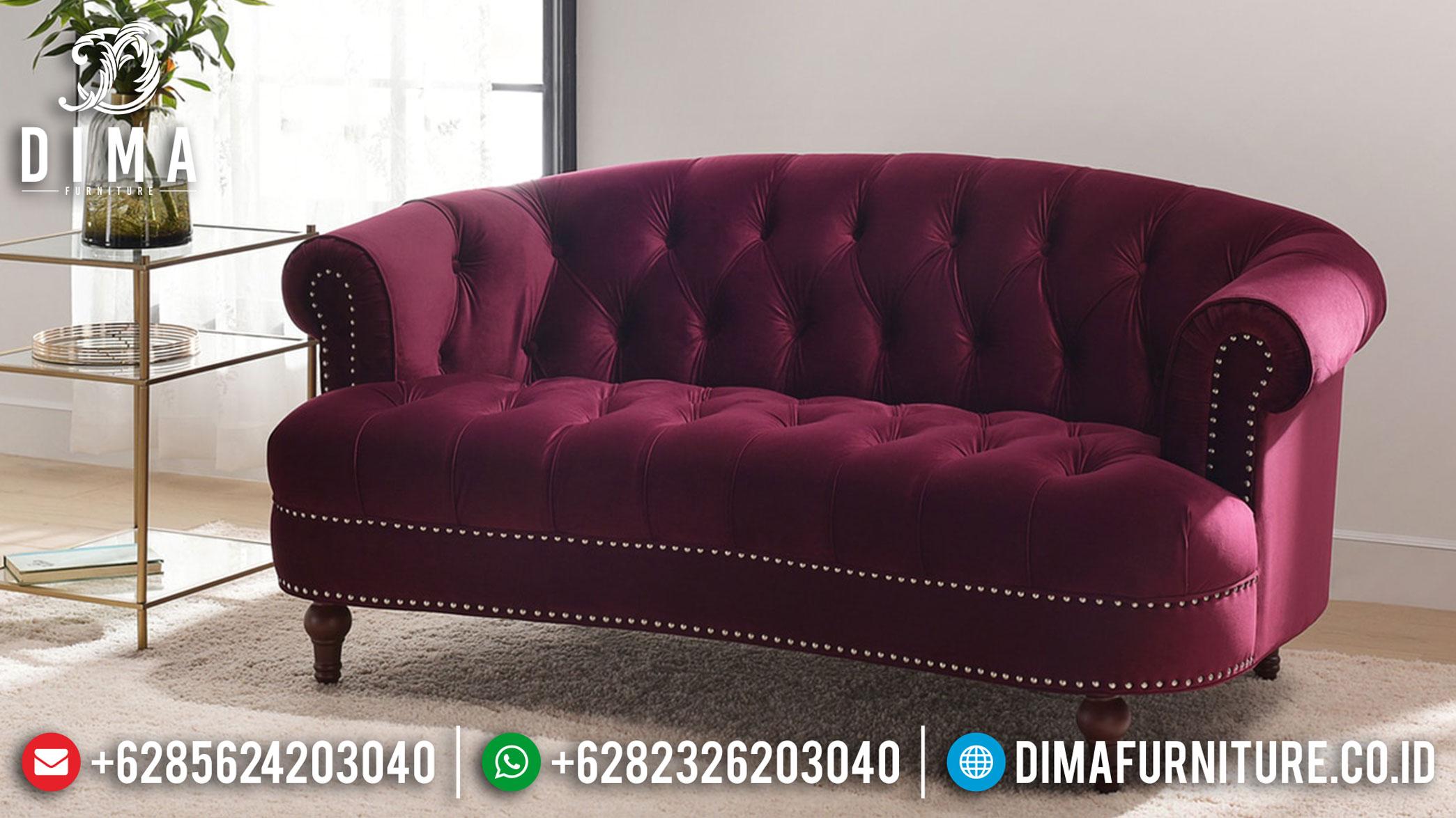 Sofa 3 Dudukan Minimalis Jepara Desain Chester Great Quality Solid Wood BT-0862