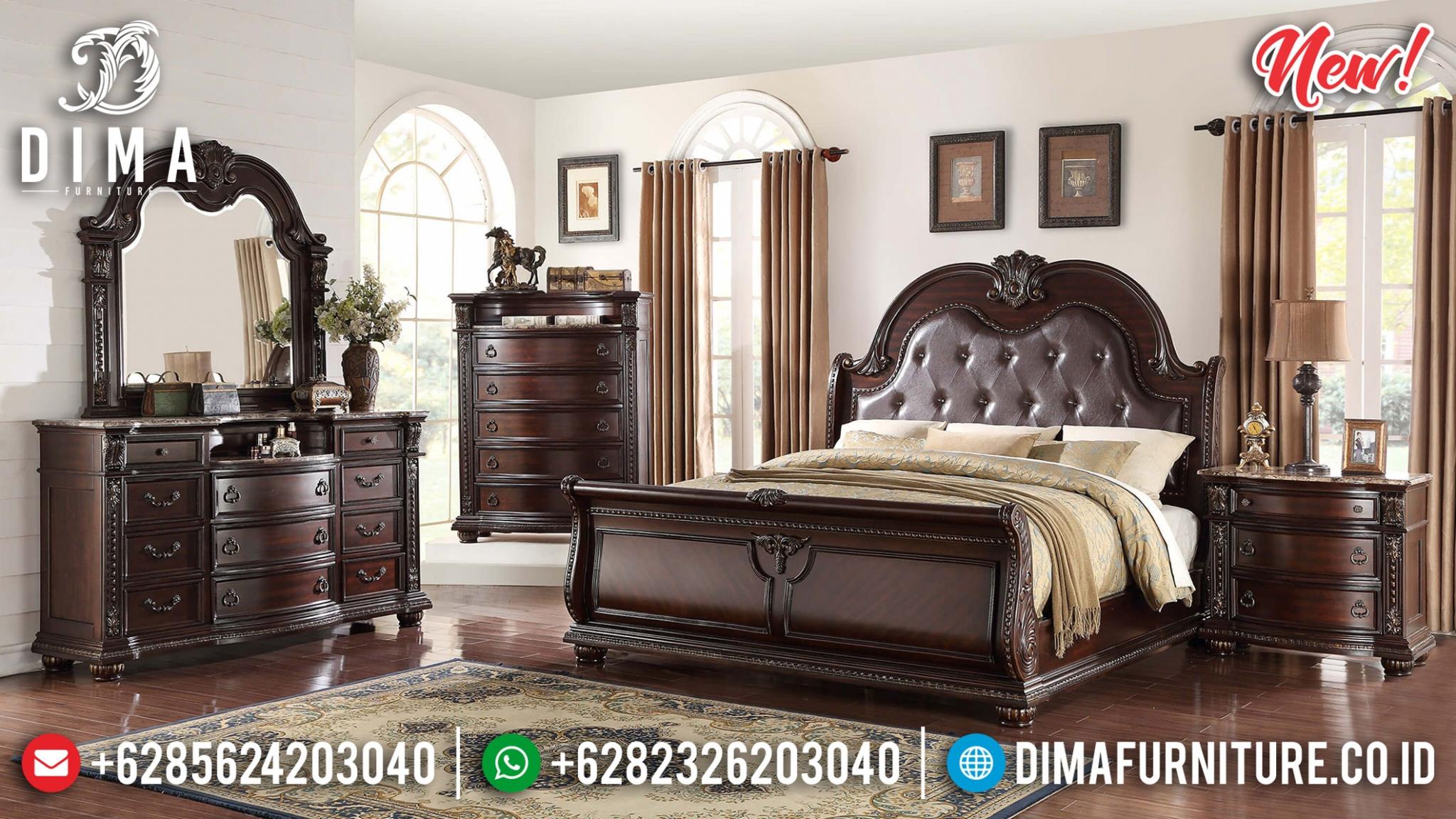 Dipan Minimalis Klasik, Kamar Set Jati Natural Best Sale This Year BT-0903