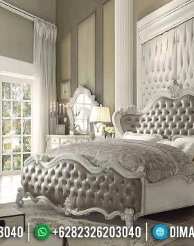Harga Tempat Tidur Mewah Ukiran Jepara Luxury Classic Kayu Perhuatani Grade A BT-0934