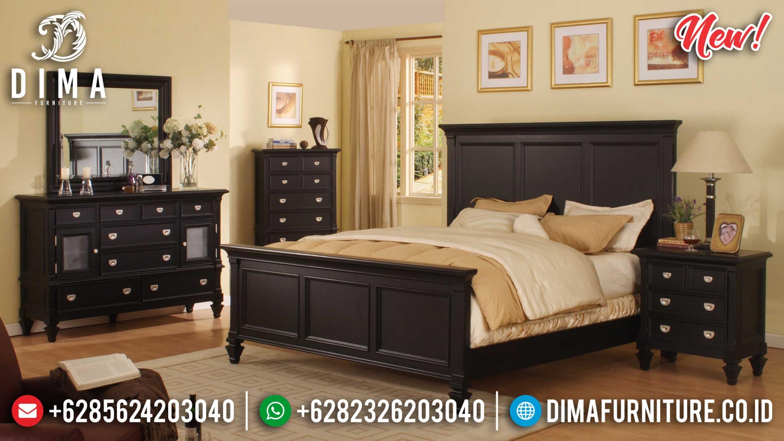 Jual Kamar Set Minimalis Black Edition New Design Inspiring BT-0920
