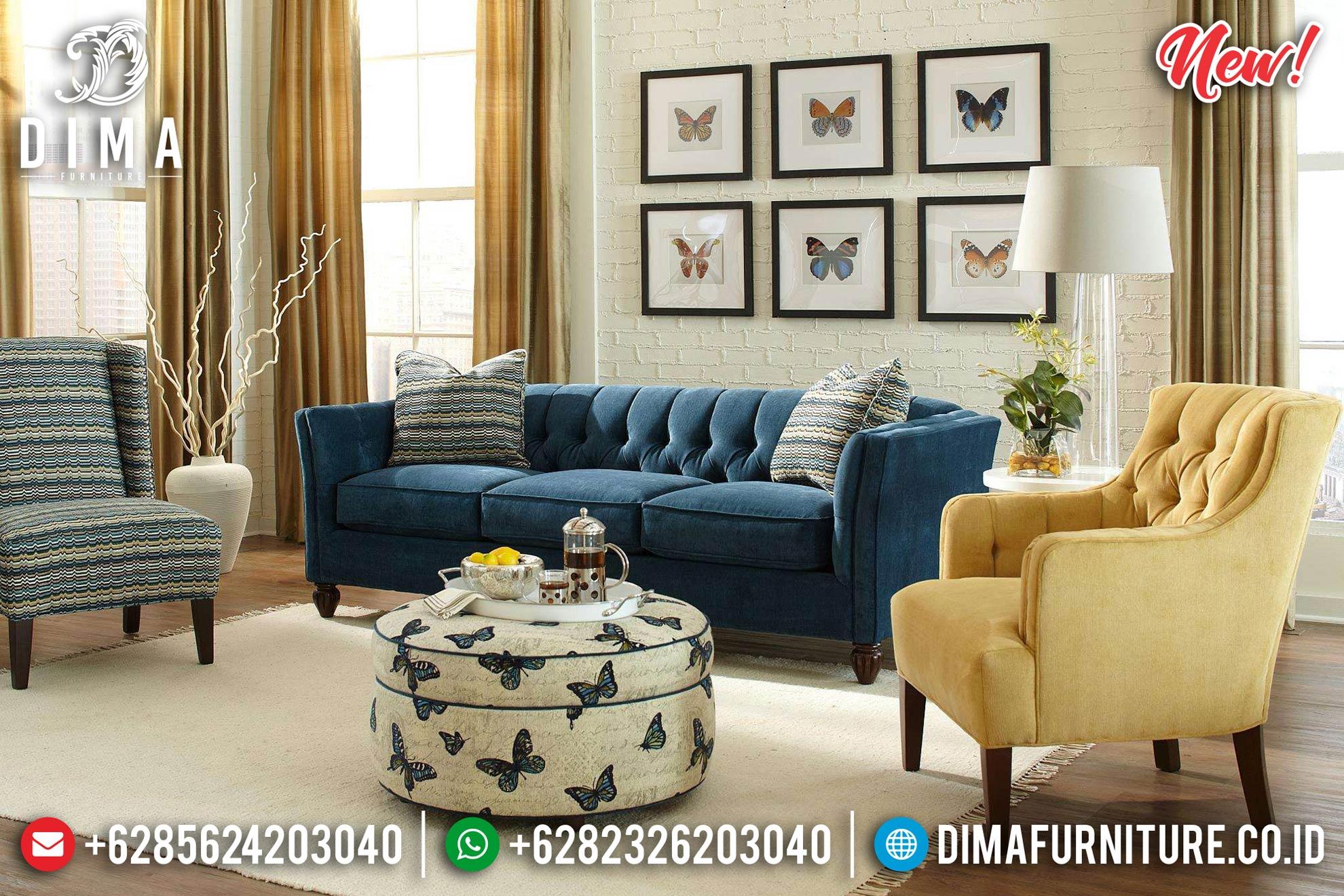 Kursi Sofa Tamu Minimalis Natural Jati Klasik Jepara Modern Design BT-0907