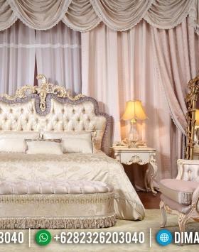 New Kamar Set Mewah, Dipan Ranjang Pengantin, Tempat Tidur Pengantin Luxury Classic BT-0932
