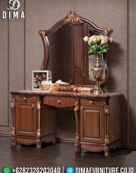 New Model Meja Rias Ukir Jepara Luxury Carving Hilton Style BT-0895