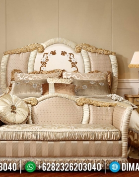 Terlaris Ranjang Pengantin Kamar Set Mewah Luxury Carving Best Seller BT-0938