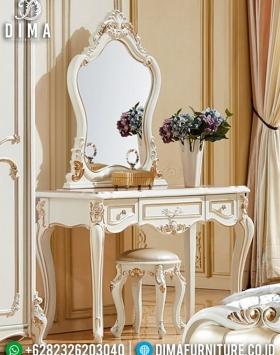 Cermin Rias Mewah Set Meja Rias Jasmine Luxury Type Limited Edition BT-0943