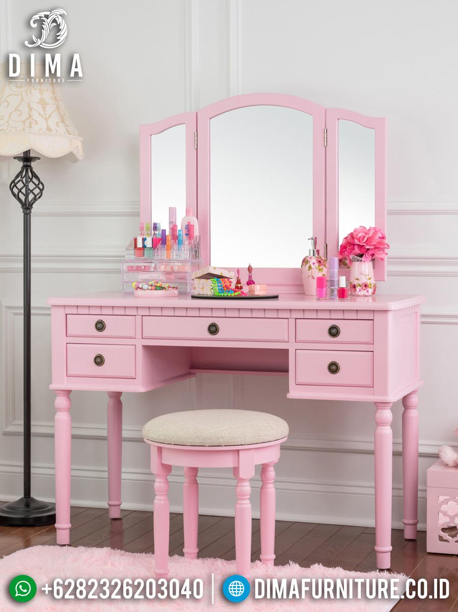 Pinky Sweet Meja Rias Minimalis Best Seller New Princes Style BT-0950