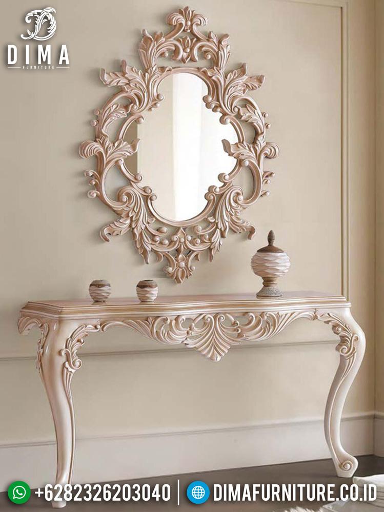 Set Cermin Hias Ukir Mewah Luxury Classic Furniture Jepara Terbaru BT-0945