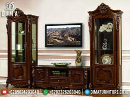 Absolut Style Bufet TV Mewah Jati Luxury Natural Classic Color BT-0961