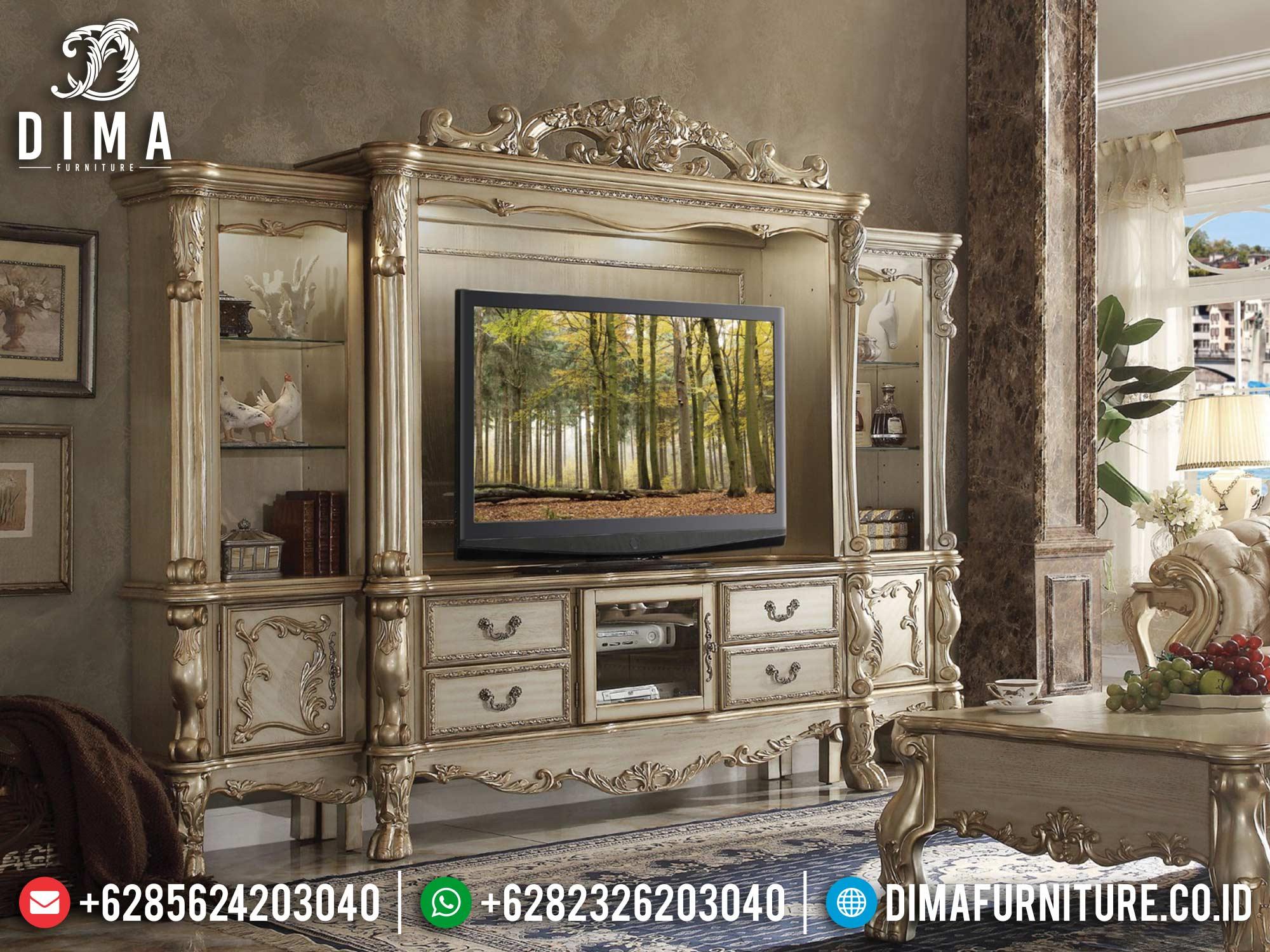 Bufet TV Mewah Terbaru Great Golden Duco Color Classic Luxury BT-0970