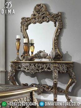 Cermin Hias Ukir & Meja Konsol Mewah Elegant Greatest Item BT-0995