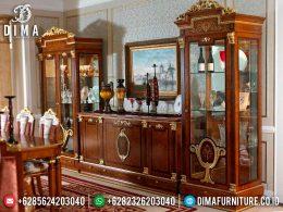 Classic Desain Bufet TV Mewah Ukir Jepara Elegant Greatest Style BT-0964