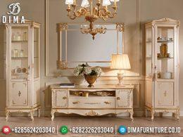Desain Meja TV Mewah Luxury Classic Excellent Color Duco Glossy BT-0965