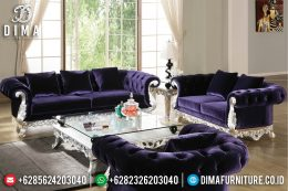 Great Empire Design Sofa Tamu Mewah Silver Luxury Color BT-1006