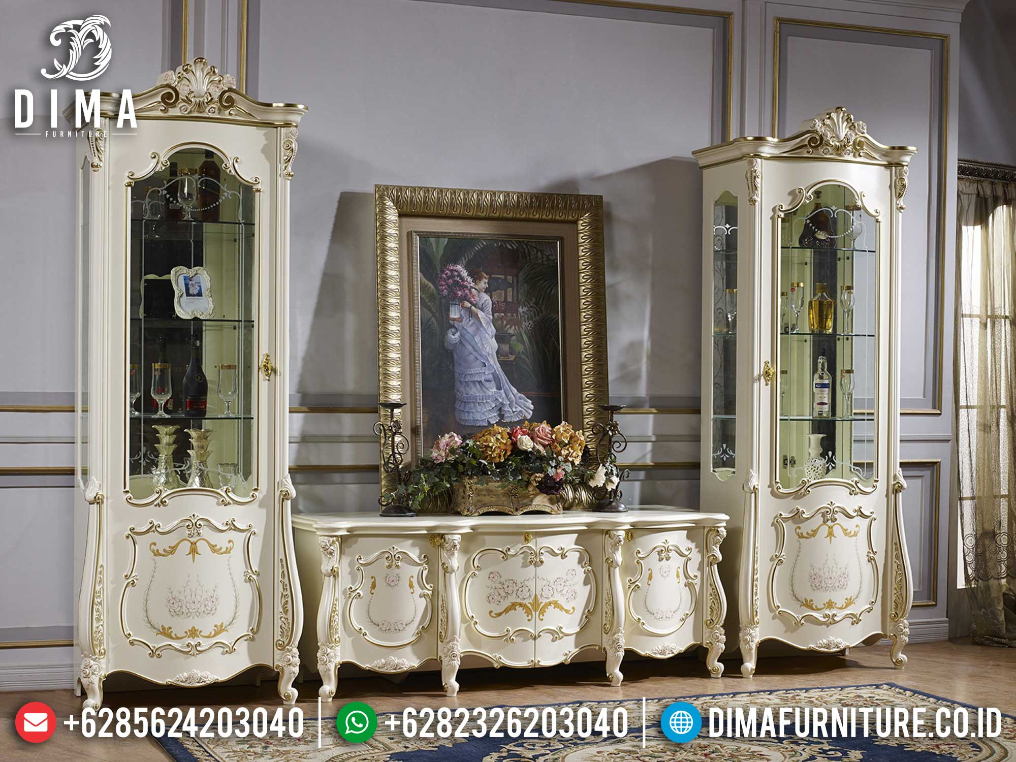 Harga Bufet TV Mewah Classic Luxury Best Seller 2021 BT-0956