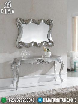Meja Konsol Minimalis Mewah Silver Excellent Color Luxury Design BT-0999