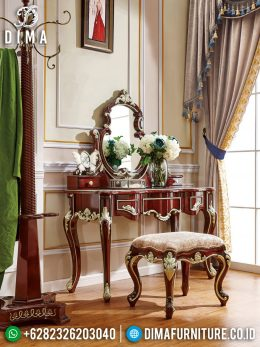 Meja Rias Mewah Jati Ukir Jepara Luxurious Best Interior Design BT-0952