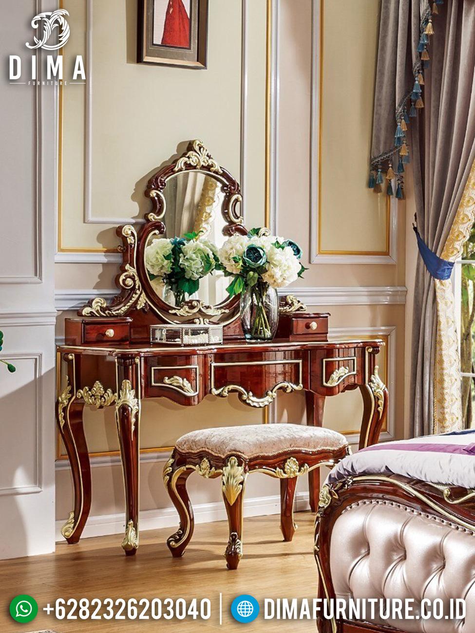 Meja Rias Mewah Luxurious Design Excellent Color Style BT-0987