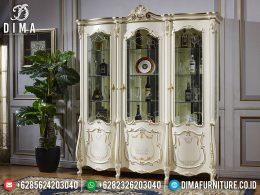 Model Lemari Hias Mewah Jepara New Released Luxury Carving BT-0974