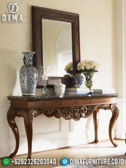 New Meja Konsol Mewah Jati Natural Luxury Carving Furniture Jepara BT-1000