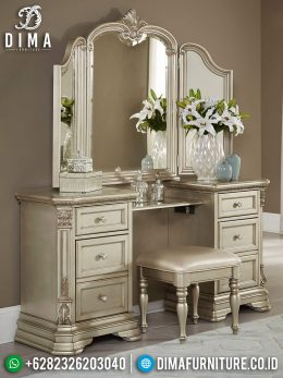 New Meja Rias Mewah Duco Color Luxury Furniture Jepara BT-0988