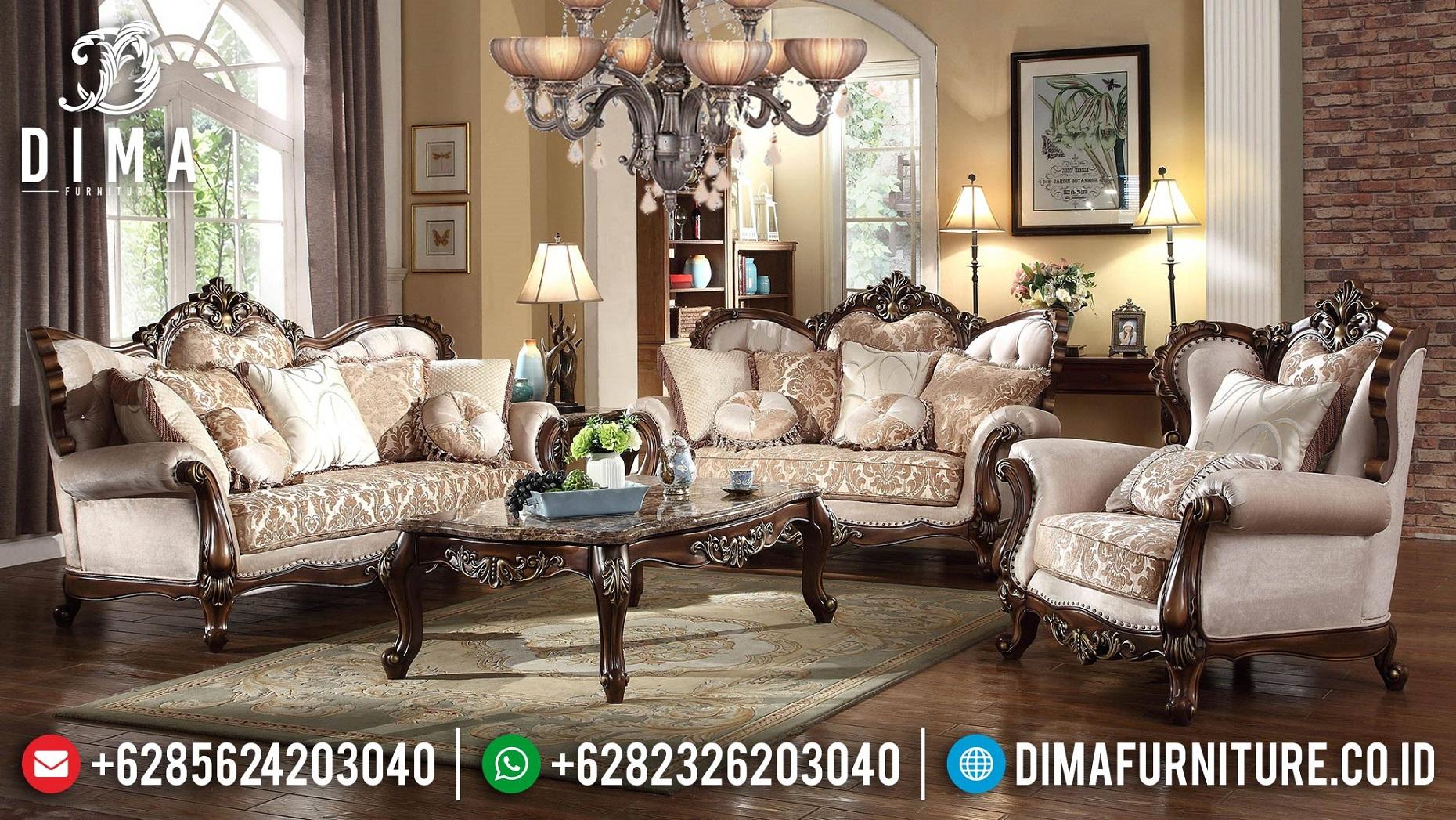 New Set Sofa Tamu Mewah Terbaru Luxury Classic Carving BT-1002