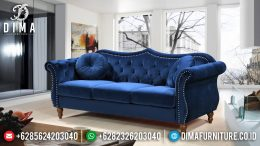 New Sofa Tamu Minimalis 3 Seater Luxury Beludru Fabric Best Quality BT-1011