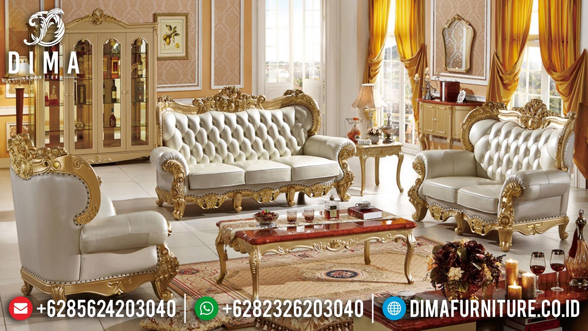 Sofa Tamu Jepara Terbaru New Luxury Design Mebel Jepara BT-1003