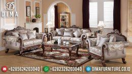 Sofa Tamu Mewah Jepara Natural Jati Luxury Carving Terbaru BT-1001