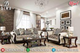 Set Sofa Mewah Jati Natural Ukiran Classic BT-1002