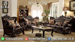Best Quality Desain Sofa Tamu Mewah Jepara Color Old Brown BT-1029