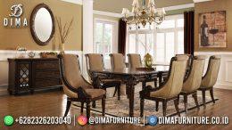 Best Seller Desain Meja Makan Minimalis Jepara Elegant Design Natural Color BT-1023