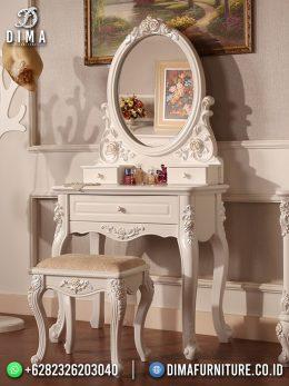 Best Seller Desain Meja Rias Minimalis Jepara Classic Style Duco Color BT-1074