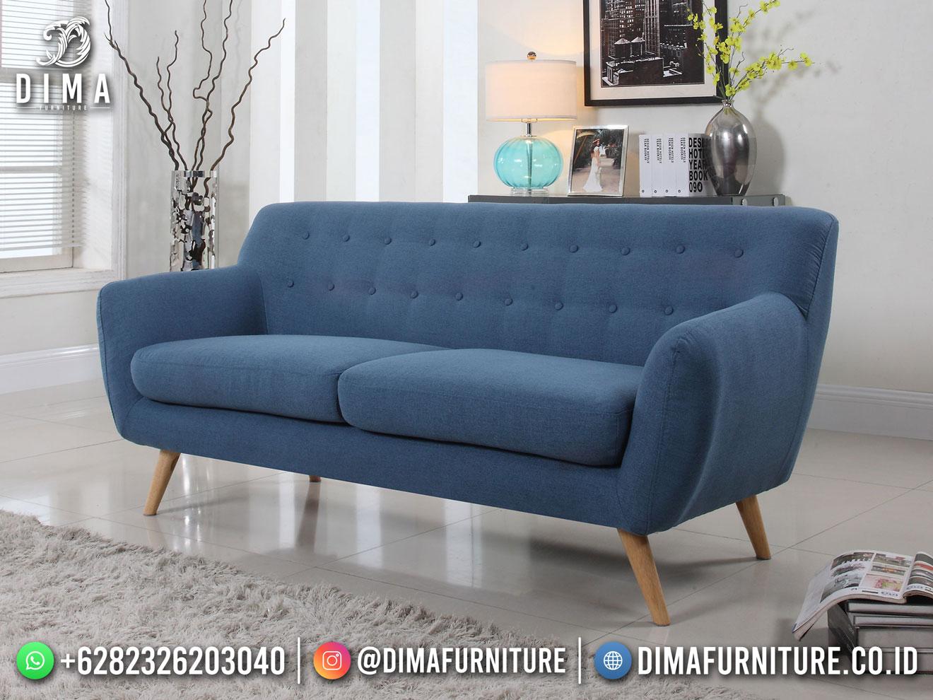 Best Seller Desain Sofa Minimalis Jepara Mid-Century Elegant Style BT-1107