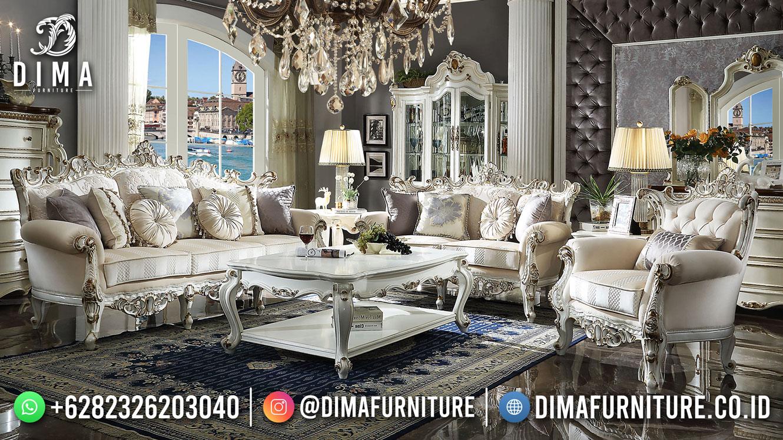 Best Seller Desain Sofa Tamu Mewah Jepara Best Living Room BT-1036