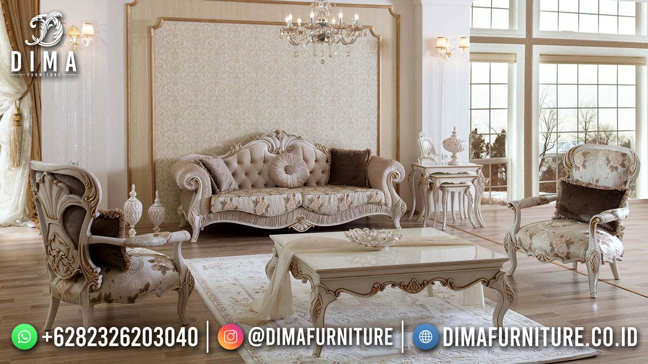Best Seller Desain Sofa Tamu Mewah Jepara Elegant Luxury BT-1038