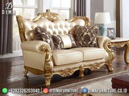 Best Seller Desain Sofa Tamu Mewah Jepara Luxury Carving Golden Color BT-1101